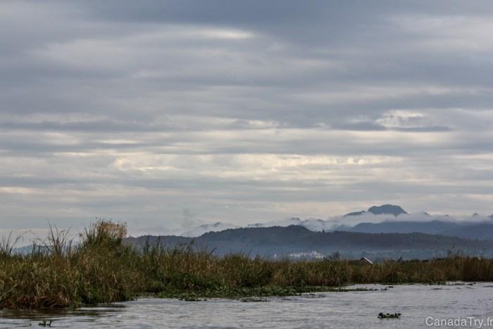 paysage lac inlé