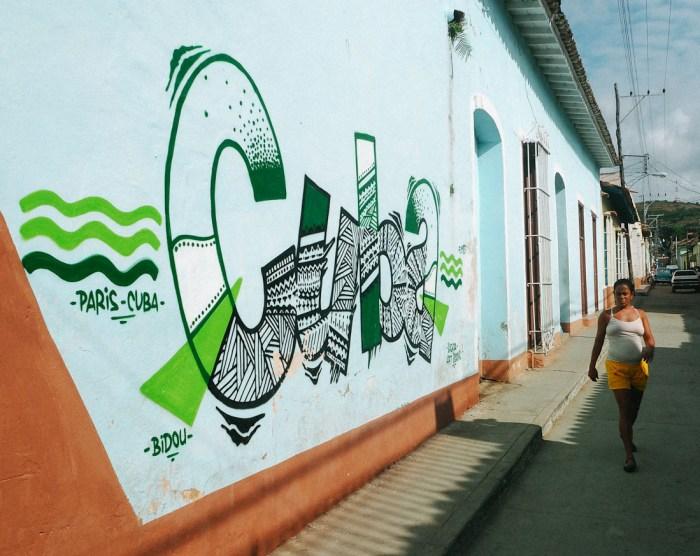 peinture cuba à trinidad