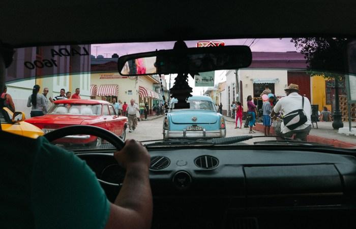 taxi à trinidad cuba