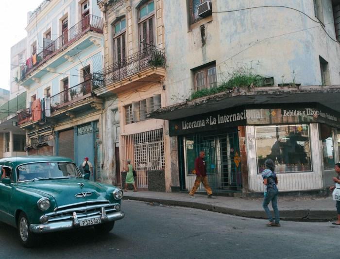 voiture vintage centre de la havane