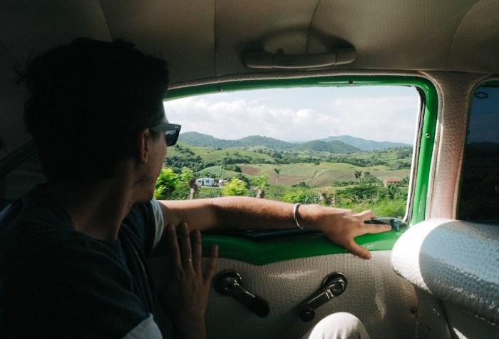 taxi chevrolet bel air cuba