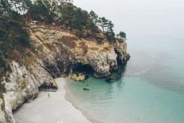 eau turquoise presqu'île de crozon