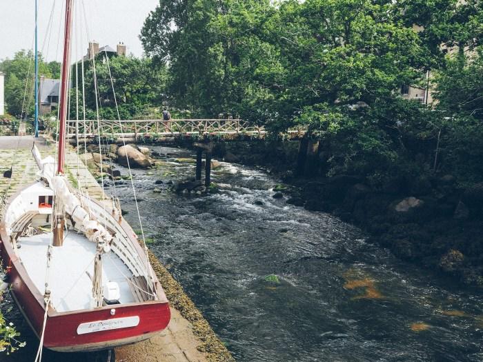 Voilier à Pont Aven