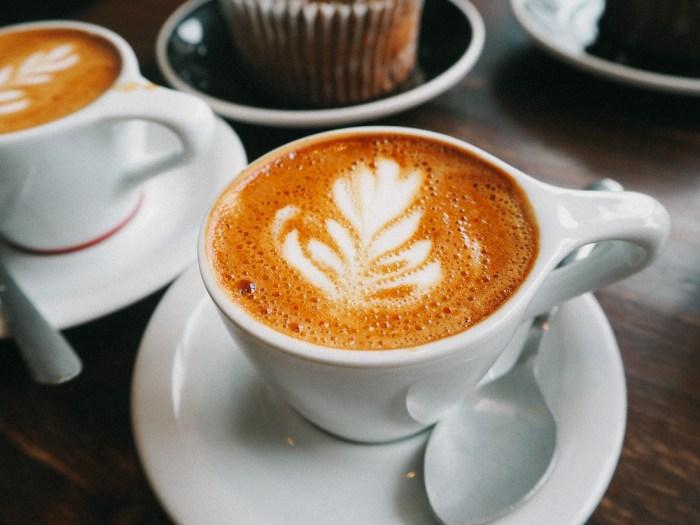 dessin feuille café