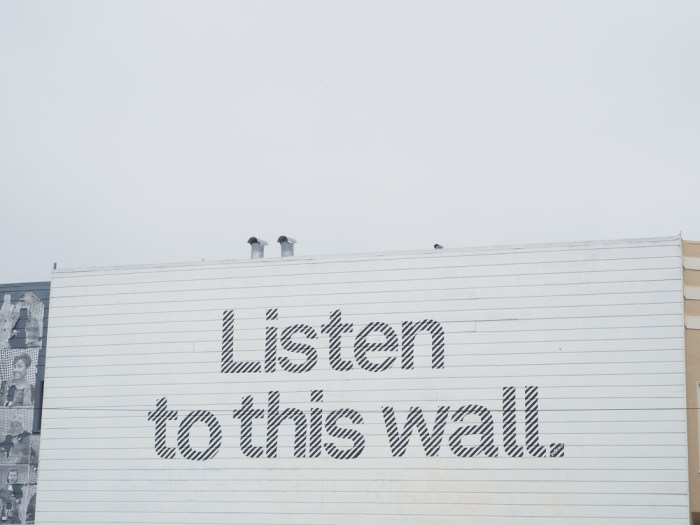 listen to this wall san francisco
