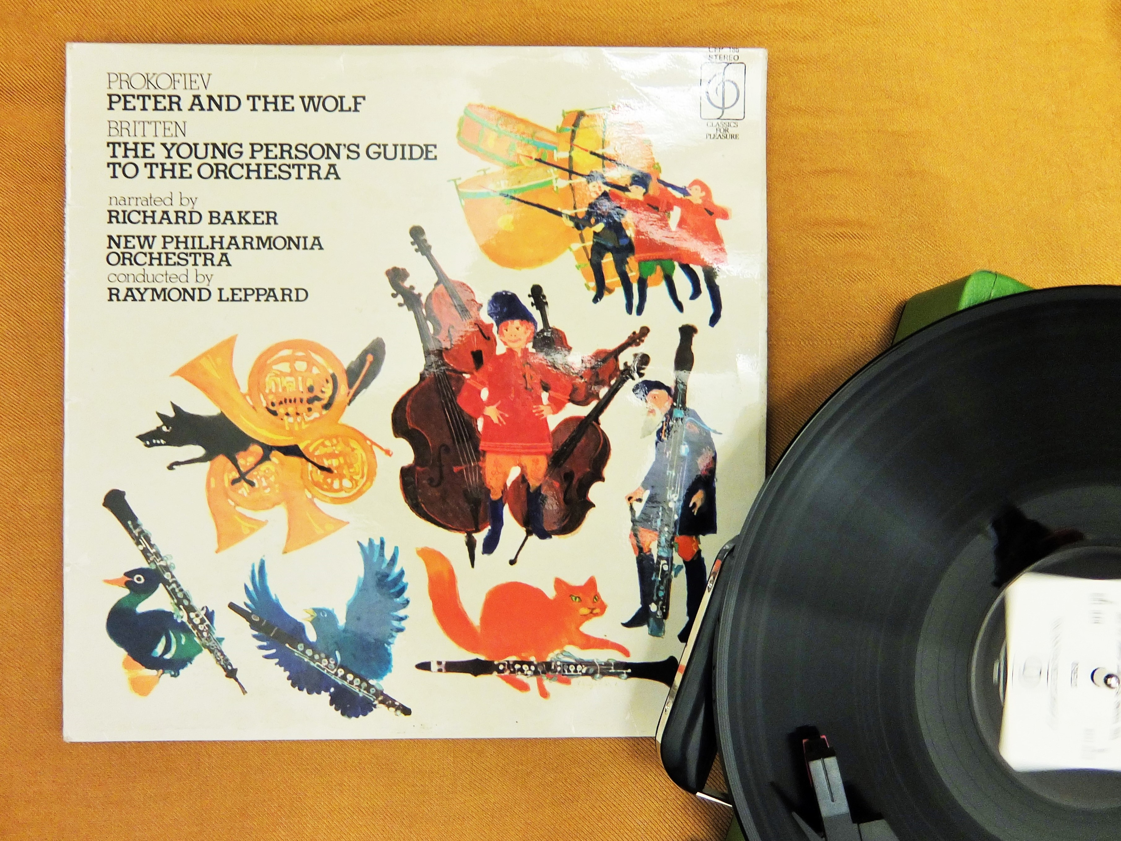 Peter And The Wolf Record