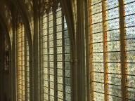 chapel windows at chapel at chateau de vincennes