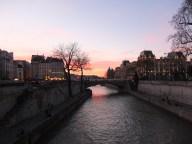 pont neuf at sunset