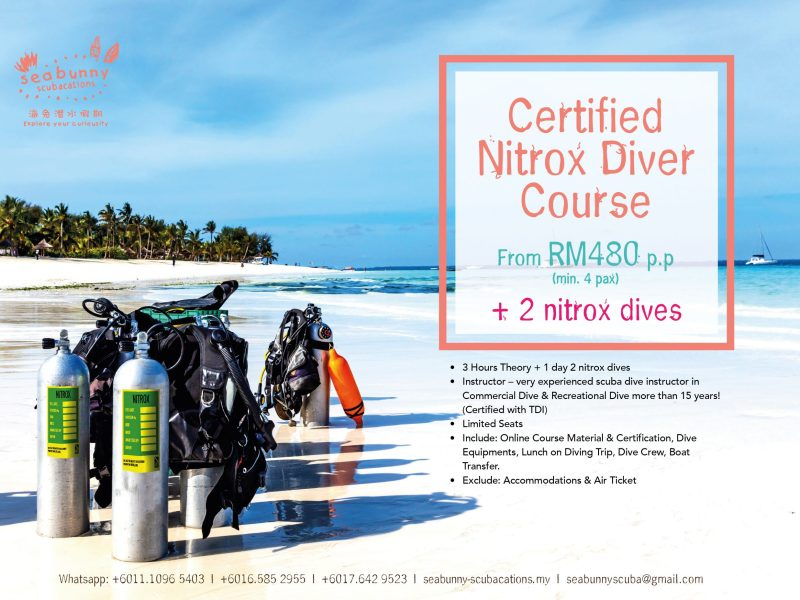 NEW! Enriched Air Nitrox Course
