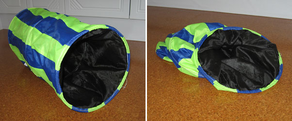 The kind of cat tunnel you should avoid
