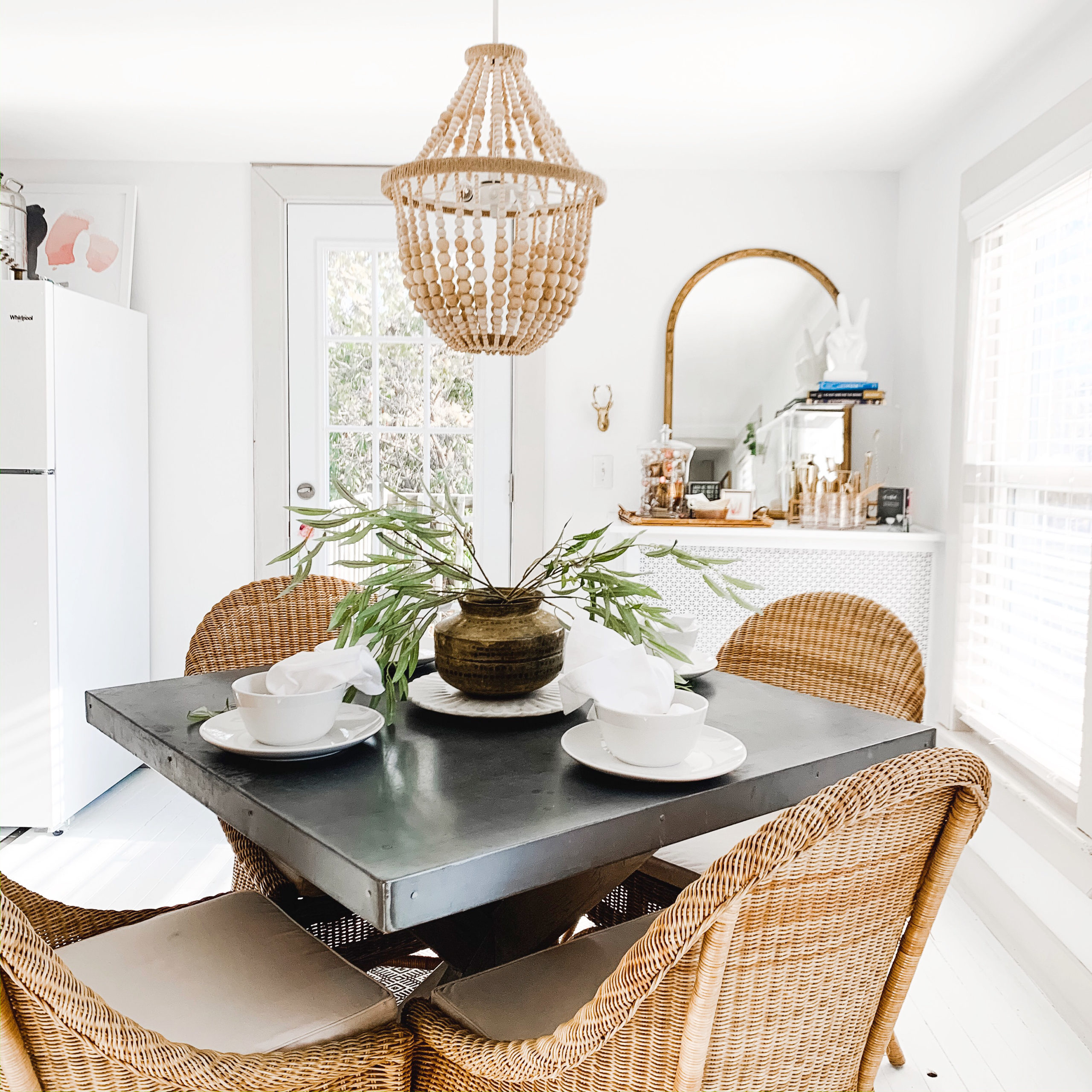 Brass & Pine Dining Room