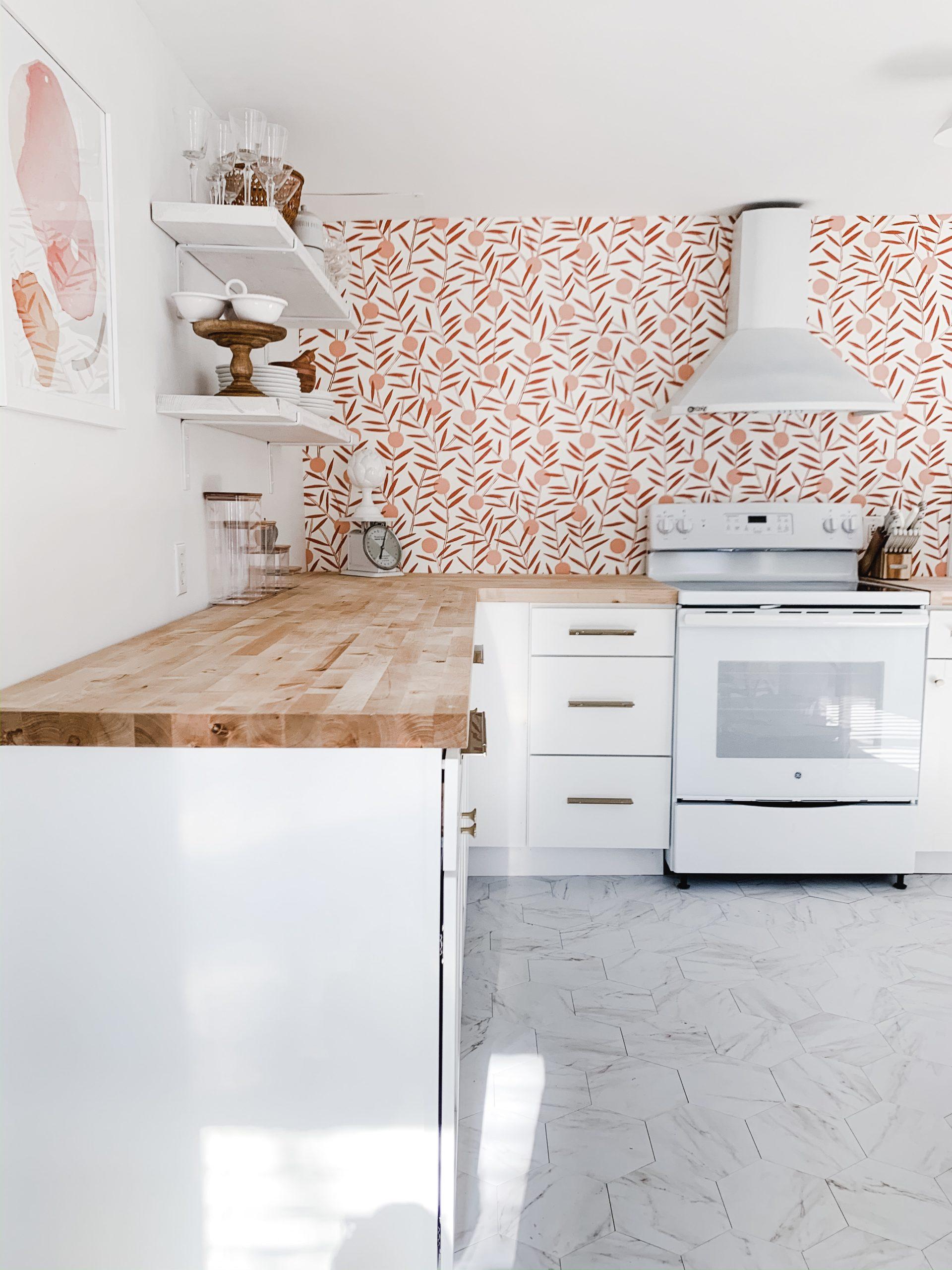 Brass & Pine Kitchen Design