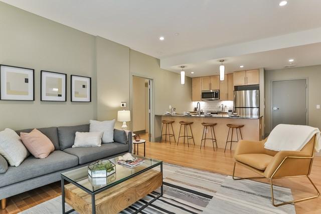 Forest & Ash Living Room + Kitchen