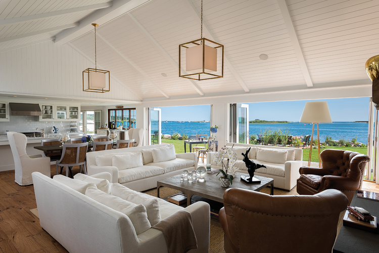 Hurlbutt Design Living Room Interior