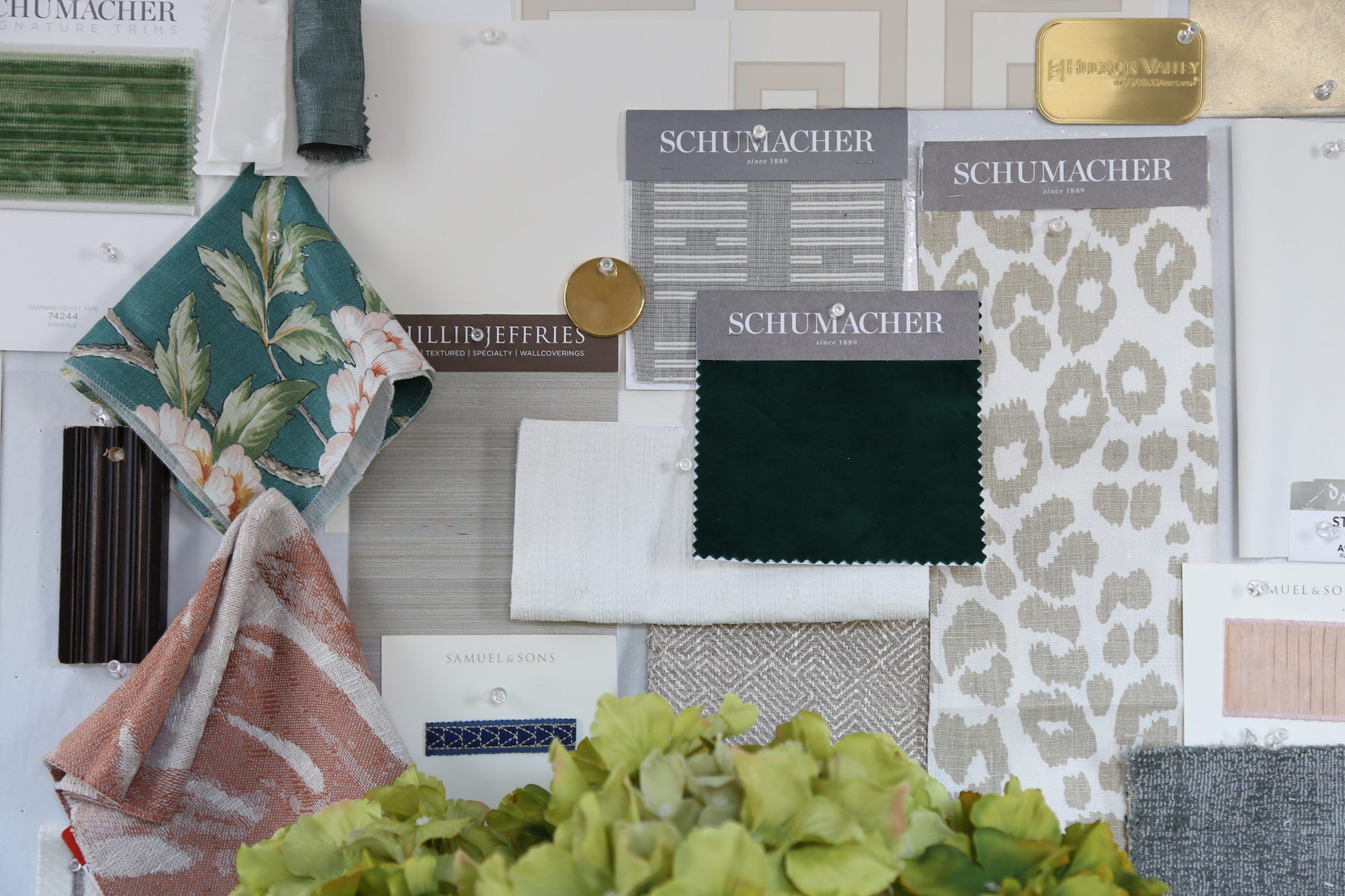 Life Styled Interior Design Color Swatch