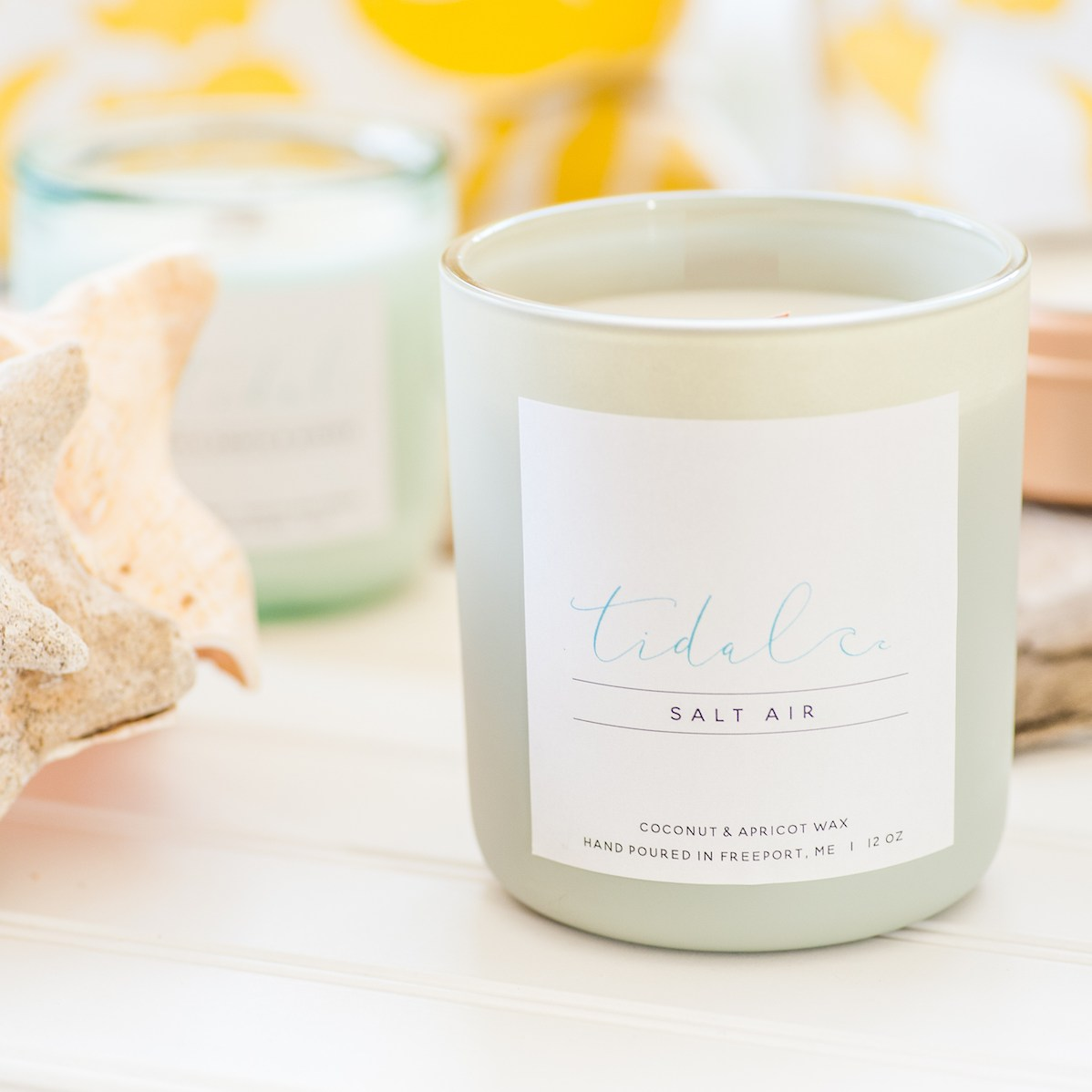 Tidal Living Candle Freeport Maine
