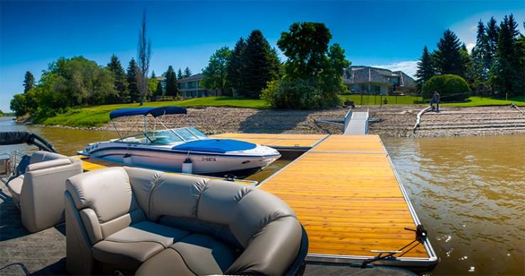 L6 Dock System residential installation