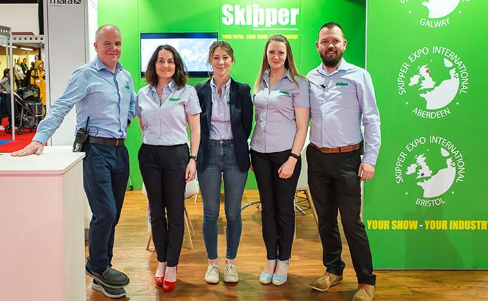 The Skipper magazine team