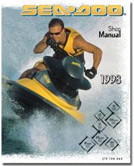 1998 SeaDoo GS, GSX Limited, GTS, GTI, GTX Limited, SPX