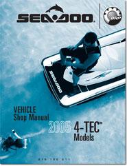 2005 SeaDoo 4TEC, GTX, RXP, RXT, WAKE Shop Manual  FREE PDF Download!