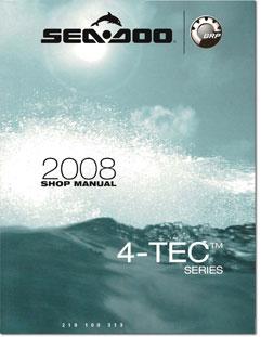 2008 SeaDoo 4TEC GTI, GTI SE, RXP, RXT, RXTX, WAKE Shop