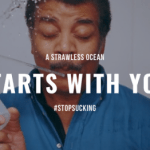 A Strawless Ocean starts with you. #stopsucking and say no to drinking straws today.