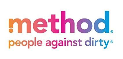 Shop: Rainbow coloured Method logo