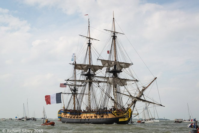 Hermione, Historic Sailing Ship, La Fayette