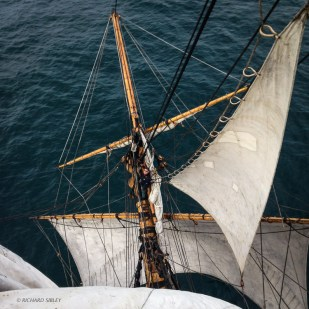 The Bowsprit from above the Foch