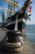 Russian 4 masted Barque Kruzenshtern. Antwerp Tall Ships Race 2010