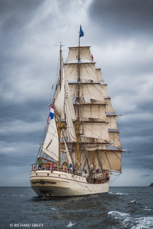 Dutch Barque 'Europa'