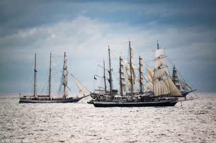 Pogoria, Lord Nelson and Stavros S Niarchos with Guayas in the mix