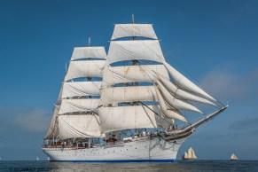 Norwegian Barque Statsraad Lehmkuhl,