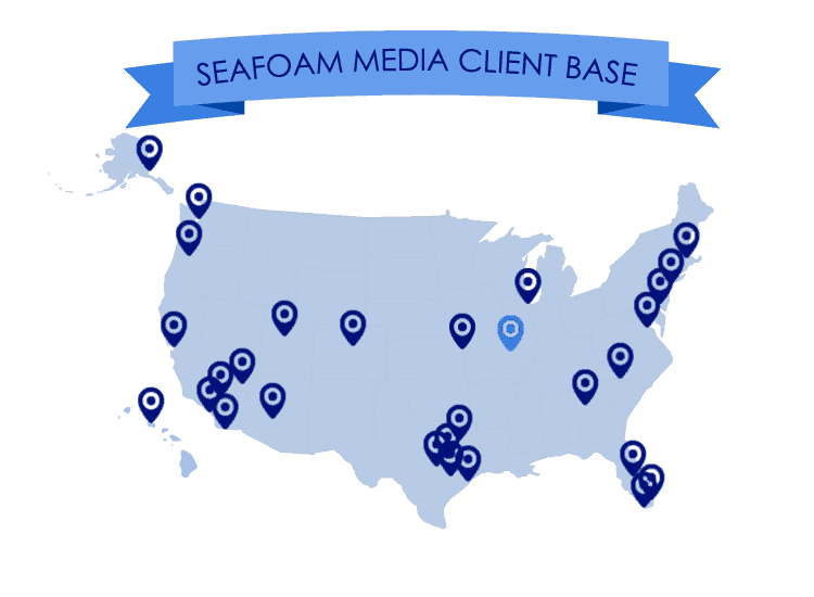 Seafoam Media's Client Base