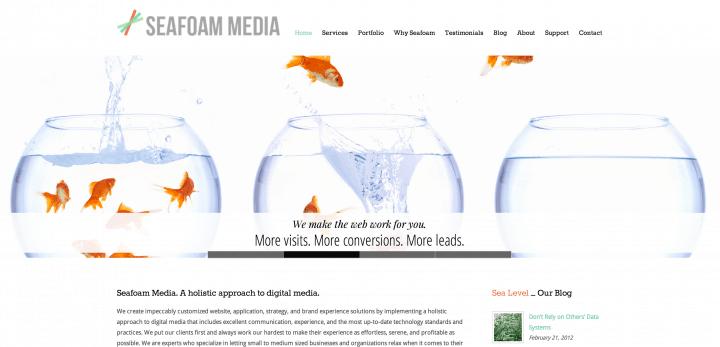 Seafoam Website Launch!