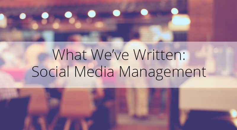 Blog on Social Media Management