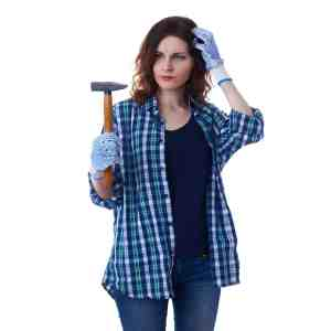 woman with hammer, question digital marketing