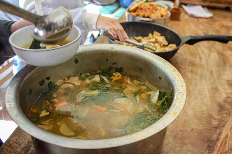 Thenthuk 藏式麵疙瘩