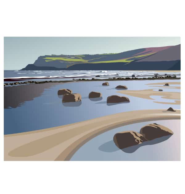 The Beach at Boggle Hole - Landscape