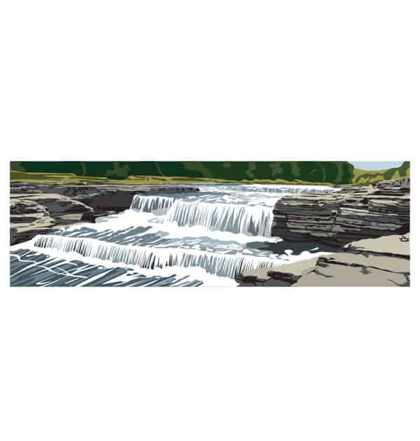 Aysgarth Falls - Panoramic
