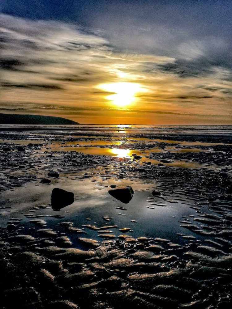 Filey Beach Sunrise 1 - Portrait
