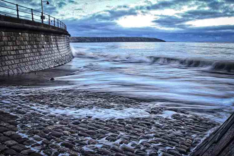 Filey Bay, Turning Tide - Landscape