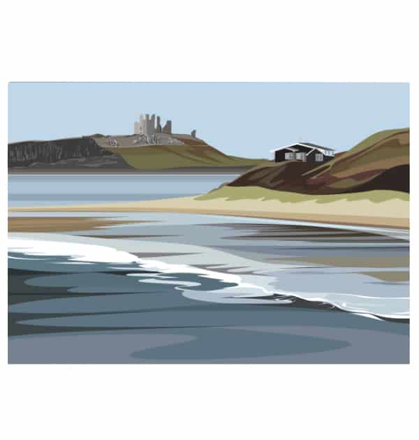 Low Newton to Dunstanburgh Castle - Landscape