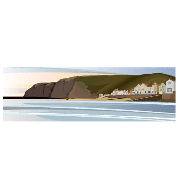 Staithes Harbour - Panoramic