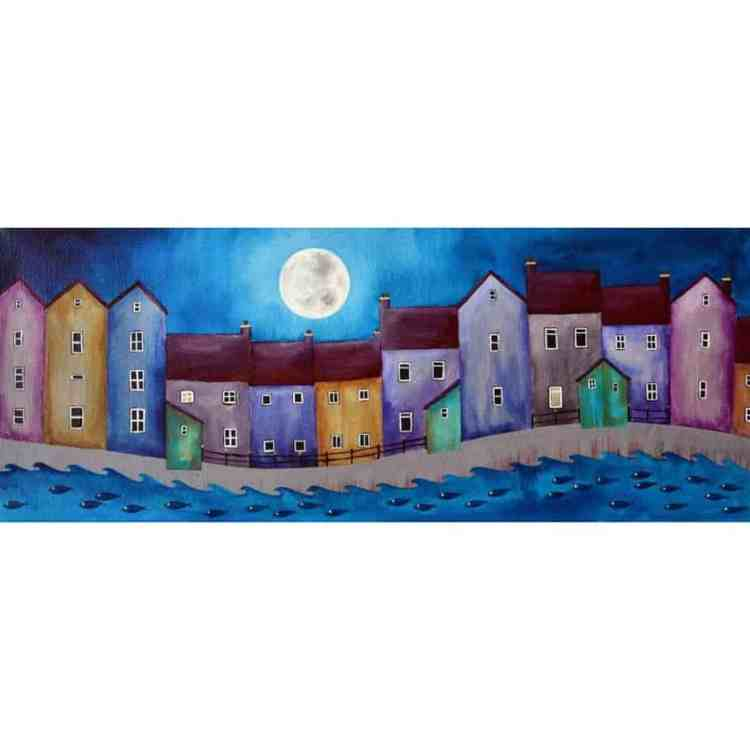 HARBOUR HOUSES II - Limited Edition Print