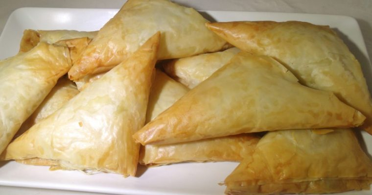 Spanakopita: Great for Side-Dish or Appetizer!