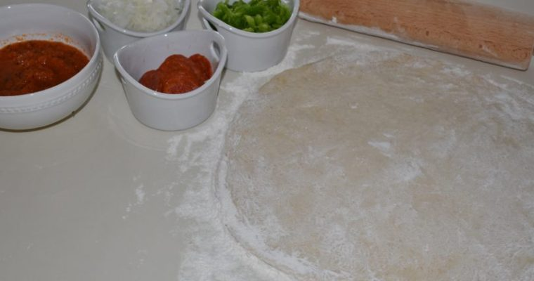 Fast and Easy Pizza Dough