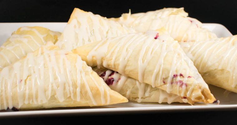 Bakery Style Blueberry Turnovers
