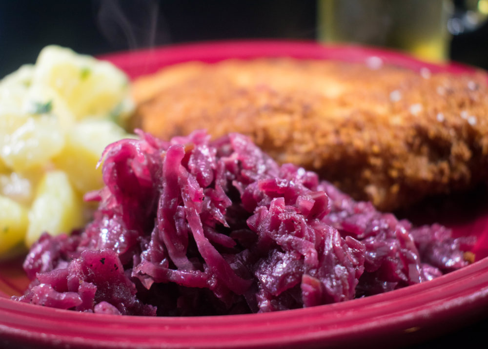 Slow-Cooked German Red Cabbage