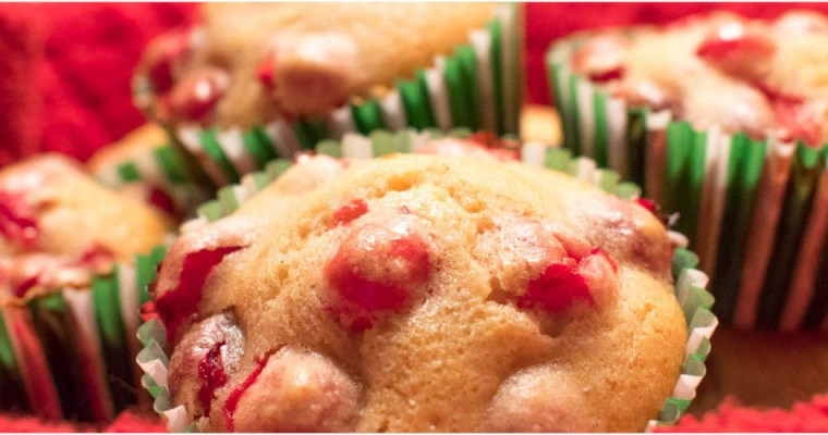 Tart and Sweet Cranberry Muffins